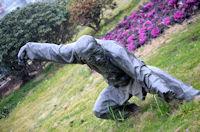 martial arts statue 60